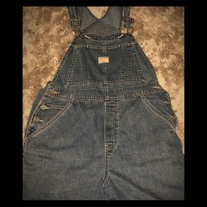 Old Navy Overall Denim Shorts